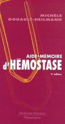 Aide-mémoire d'hémostase