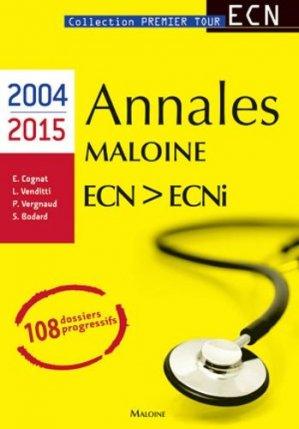 Annales Maloine Internat ECN - ECNi (2004-2015)-maloine-9782224034542
