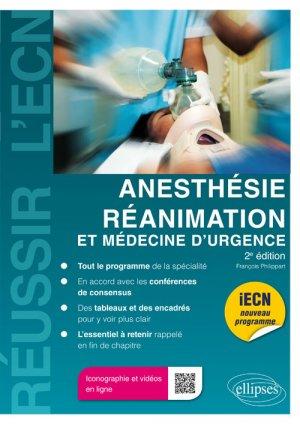 Anesthésie/réanimation et médecine d'urgence-ellipses-9782340016408