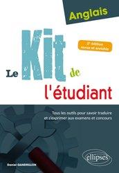 Anglais : Le kit de l'étudiant (2e édition revue et enrichie)