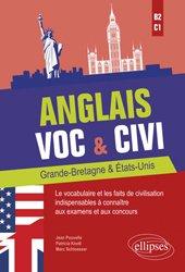 Anglais Voc & Civi - Grande-Bretagne & Etats-Unis