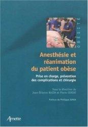 Anesthésie et réanimation du patient obèse