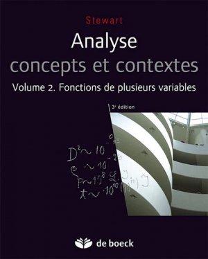 Analyse concepts et contextes-de boeck superieur-9782804163273