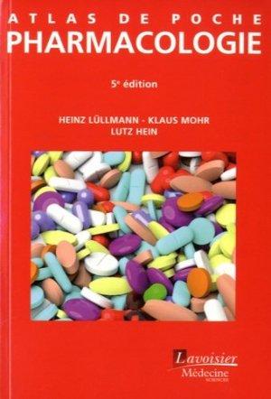 Atlas de poche de Pharmacologie-lavoisier msp-9782257206459