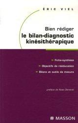 Bien rédiger le bilan-diagnostic kinésithérapique