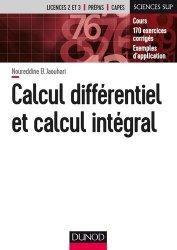 Calcul différentiel et calcul intégral-dunod-9782100761623