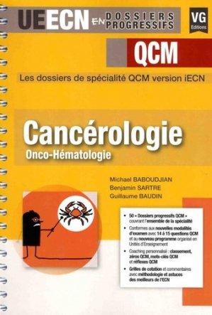 Cancérologie Onco-hématologie-vernazobres grego-9782818315675