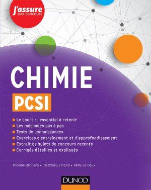 Chimie PCSI-dunod-9782100749065