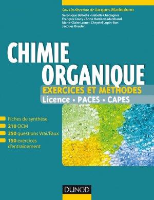 Chimie organique - Exercices et méthodes-dunod-9782100749454