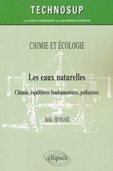 Chimie et écologie - Les eaux naturelles