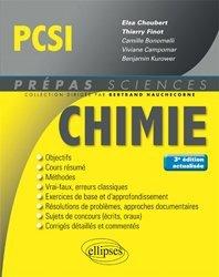 Chimie PCSI