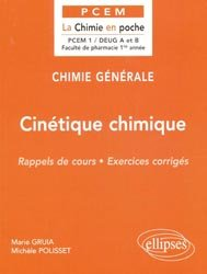 Cin�tique chimique-ellipses-9782729869779