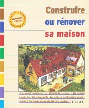 Construire ou r nover sa maison collectif 9782207252628 deno l livre - Livre renover sa maison ...