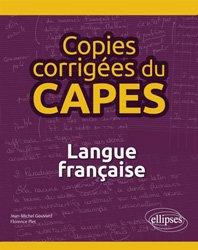 Copies corrigées du CAPES - Langue française
