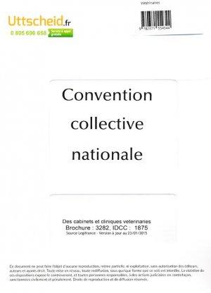 Convention collective nationale des cabinets et cliniques vétérinaires 2016 + grille de salaire-uttscheid-9782371554344