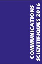 Communications scientifiques 2016 MAPAR