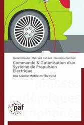 Commande & optimisation d'un système de propulsion électrique