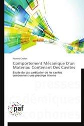 Comportement Mécanique D'un Materiau Contenant Des Cavites Comportement Mécanique D'un Materiau Contenant Des Cavites