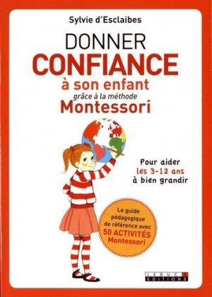 Développer la confiance de son enfant grâce à Montessori-leduc-9791028503192