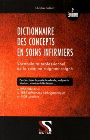 Dictionnaire des concepts en soins infirmiers-setes-9791091515436