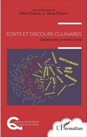 Écrits et discours culinaires-l'harmattan-9782343097183