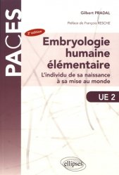 Embryologie humaine élémentaire
