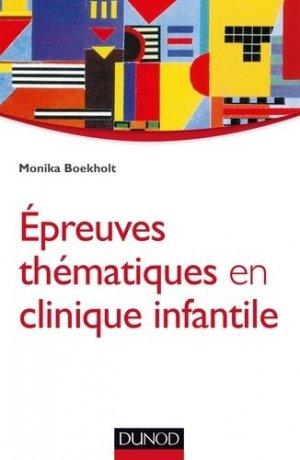Épreuves thématiques en clinique infantile - Approche psychanalytique-dunod-9782100727438