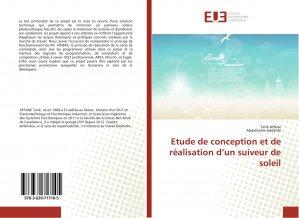 Etude de conception et de réalisation d'un suiveur de soleil-universitaires europeennes-9783639717105
