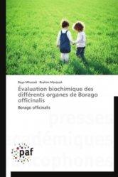 Évaluation biochimique des différents organes de Borago officinalis Évaluation biochimique des différents organes de Borago officinalis