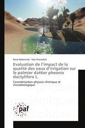 Evaluation de l'impact de la qualité des eaux d'irrigation sur le palmier dattier pheonix