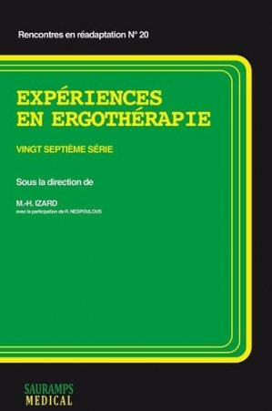 Expériences en ergothérapie-sauramps medical-9782840239598