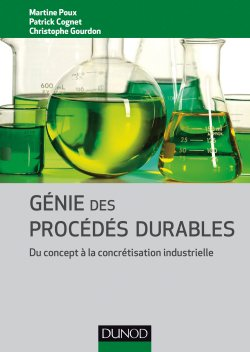 Génie des procédés durables-dunod-9782100744251