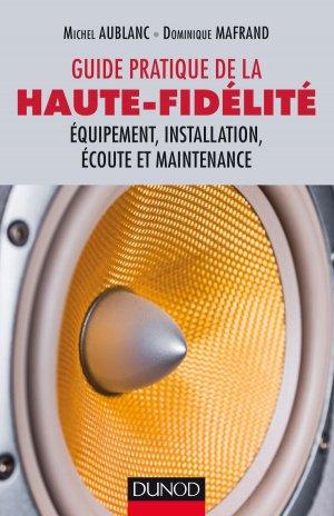 Guide pratique de la haute-fidélité-dunod-9782100758333
