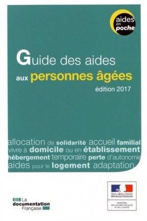 Guide des aides aux personnes agées-la documentation francaise-9782111450677