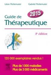 Guide de thérapeutique 2015