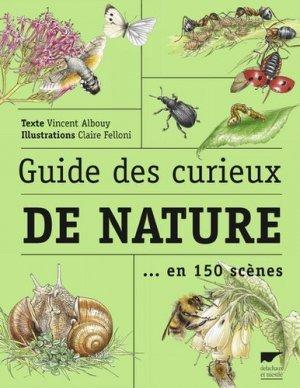 Guide des curieux de nature en 150 scènes-delachaux et niestle-9782603025123