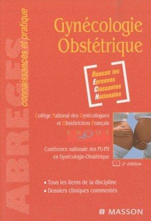 Gynécologie Obstétrique-elsevier / masson-9782294709418