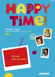 Happy Time CE2 : Coffret 2CD audio et 1 DVD Classe