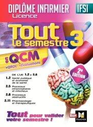 IFSI Tout le semestre 3 en QCM et QROC - Diplôme infirmier