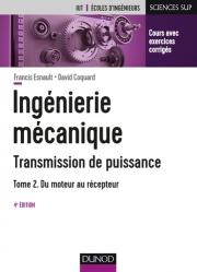 Ingénierie mécanique - Transmission de puissance - T2