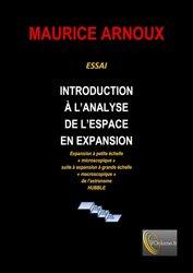 Introduction à l'analyse de l'espace en expansion