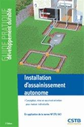Installation d'assainissement autonome