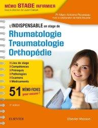 L'indispensable en STAGE de Rhumatologie - Traumatologie - Orthopédie