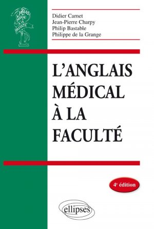 L'anglais médical à la faculté-ellipses-9782340013773