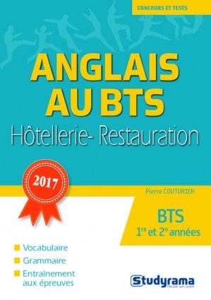 L'anglais au BTS hôtellerie-restauration-studyrama-9782759034147