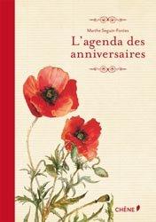 L'agenda des anniversaires-�ditions du ch�ne-9782812305498