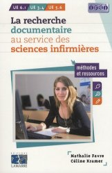 La recherche documentaire au service des sciences infirmières-lamarre-9782757306765