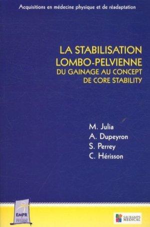 La stabilisation lombo-pelvienne-sauramps medical-9782840239307