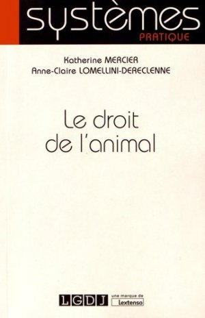 Le droit de l'animal-lgdj-9782275051512
