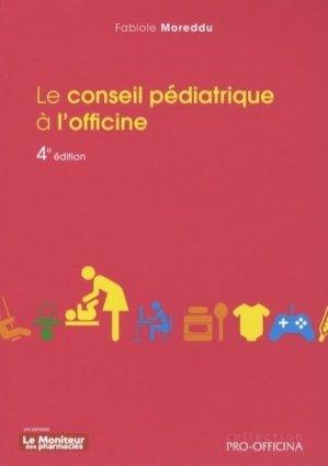 Le conseil pédiatrique à l'officine-le moniteur des pharmacies-9782375190111